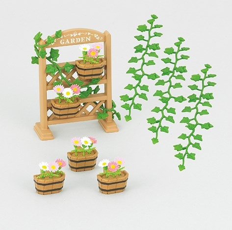 Set med Trädgårdsdekorationer  Sylvanian Families - figurer & miniatyrer