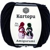 Kartopu Amigurumi 50g Black K940