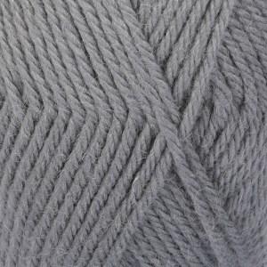 Drops Lima Uni Colour Lanka Villasekoitus 50g Medium Grey 8465