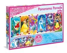 Pussel Panorama Parade, Princess, 250 bitar, Clementoni