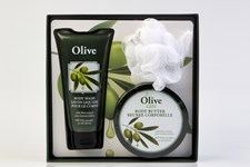 Olive Care Presentförpackning Body Butter