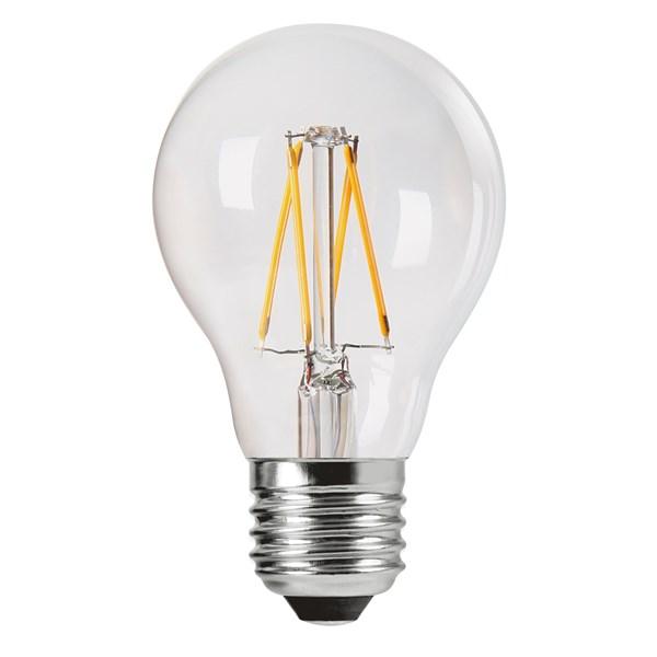 PR Home Shine LED Filament Normal Klar E27 470 lm (klar)