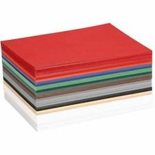 Julkartong, A6 105x148 mm,  180 g, mixade färger, 120mix. ark