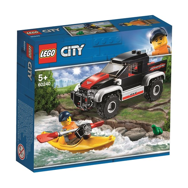 Kajakäventyr  LEGO City Great Vehicles (60240)  Lego - lego & duplo