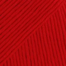 Safran Drops design Garn Bomull 50 g rød 19
