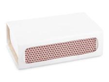 Form Living Ask för tändsticksask Metall 6x3.75x2cm Vit