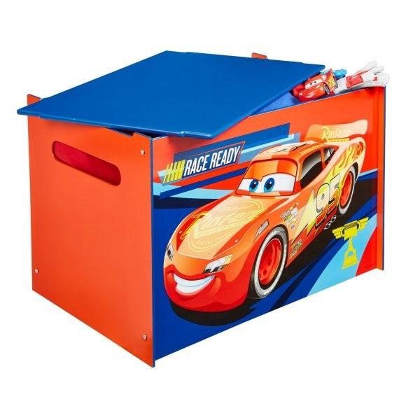 Förvaringslåda  Cars  Disney - barnrumsförvaring