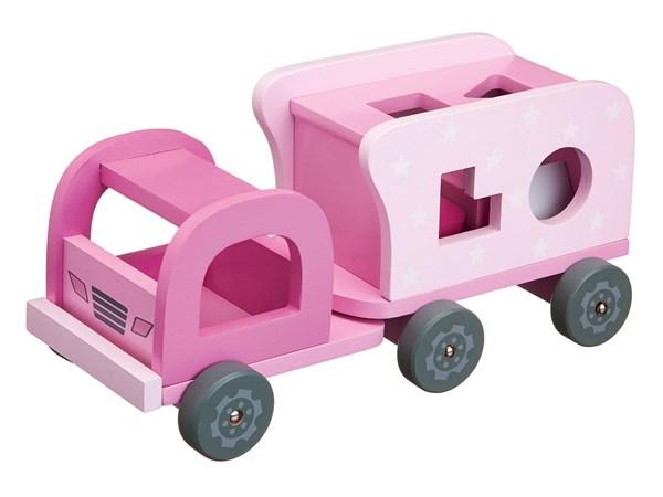Klosselastebil,Rosa, Kids Concept