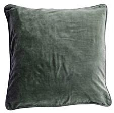 Day Home Velvet Kuddfodral 100% Bomullsammet 50x50 cm Agath Grön