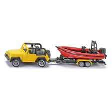 Jeep med båt, Siku
