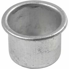 Lysmansjetter, til stakelys, dia. 25 mm, H: 18 mm, 12stk., hullstr. 22 mm
