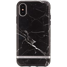 Mobildeksel, Freedom Case, Til Iphone X, Black Marble, Richmond & Finch