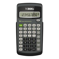 Räknare teknisk TEXAS TI-30 XA