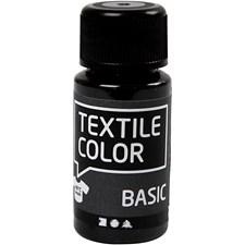 Textilfärg 50 ml Svart