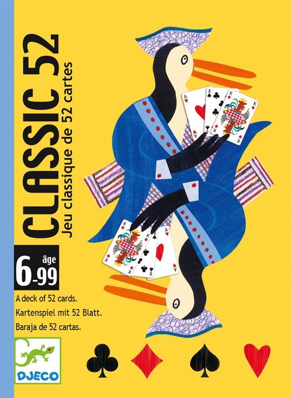 Classic 52, Kortlek, Djeco