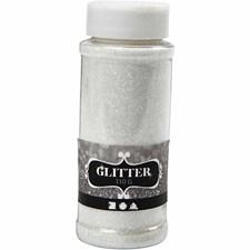Glitter, 110 g, hvit