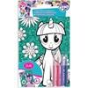 Fargelegg ditt eget glitterbilde My Little Pony