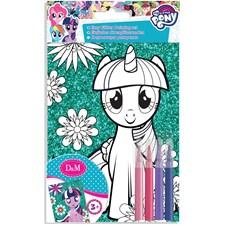 Måla din egen glittertavla, My Little Pony