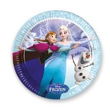 Disney Frozen Iceskate -lautaset, 8 kpl