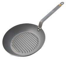 de Buyer Mineral B Element Grillpanna Dia 26 cm Kolstål