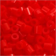 Rörpärlor 5x5 mm 6000 st Ljusröd (19)