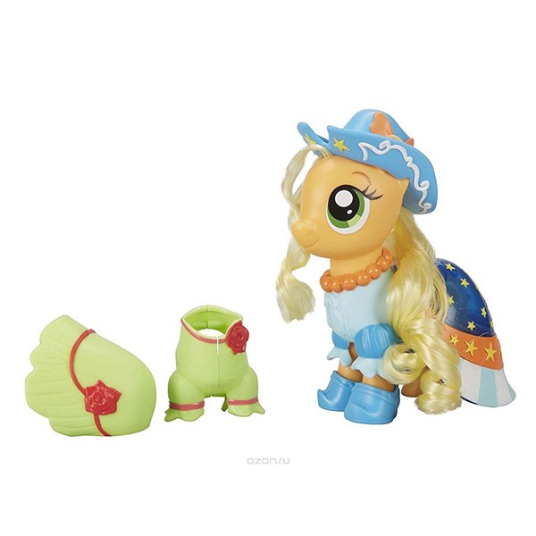 Applejack Fashion Snap-On  My Little Pony - figurer & miniatyrer