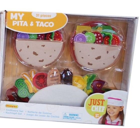 Matset i textil  Taco  Summertime - rollek