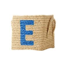 Oppbevaringskurv, Strå, E, Rice