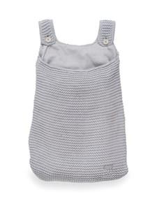 Storage Bag, Heavy Knit Grey, Jollein