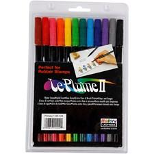 Le Plume II -tussit, 12 kpl, vahvat värit