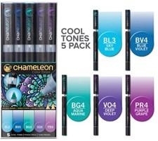 Chameleon 5-pack Pen Marker Cool Tones