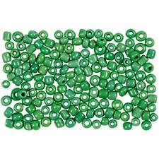 Rocaillepärlor 8/0 Grön 25 g