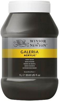 Galeria Akryl 1 liters 331 Ivory svart