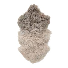 Bloomingville Lammasturkki Tiibettiläinen Karitsannahka Pituus 90 cm, Leveys 50 cm Ruskea