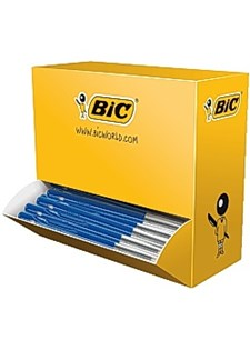 Kulepenn BIC M10 medium blå (100)