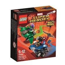 Spindelmannen mot Green Goblin, Mäktiga mikromodeller, Lego Super Heroes (76064)