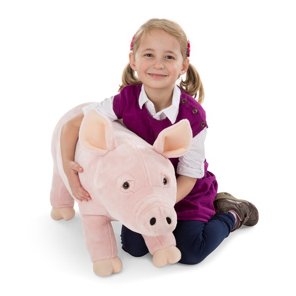 Pig - Plush  Melissa & Doug - gosedjur