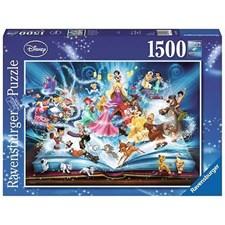 Puslespill, Disney's Magical Storybook, 1500 brikker, Ravensburger