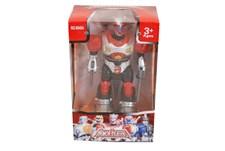 Robot 18 cm, Röd & Vit, Armor Fighters