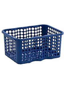 Förvaringskorg av Plast 6 L Blå Minst 20 st