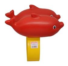 Svømmehjelp Delfin Rød, Plasto