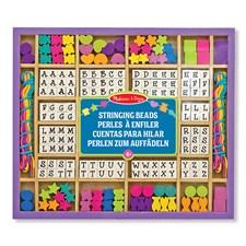 Pärlset med bokstäver, Melissa & Doug