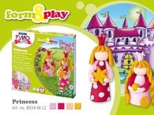 FIMO® KIDS Leire, Leiresett, Skap og lek, Prinsesser