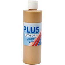 Plus Color-askartelumaali, 250 ml, kulta