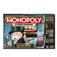 Monopoly Ultimate Banking NO, Hasbro