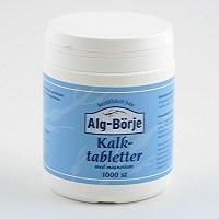 Alg-börje Kalktabletter, 1000 tabletter