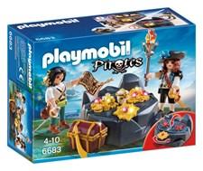 Pirater med skatt, Playmobil Pirates (6683)
