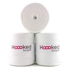 Hoooked Zpagetti Garn Återvunnen bomull ca 900g White shades (ZP001-2)