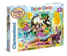 Pussel SuperColor Rapunzel, 104 bitar, Clementoni