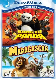 Kung Fu Panda 1 & Madagaskar 1 (2-disc)